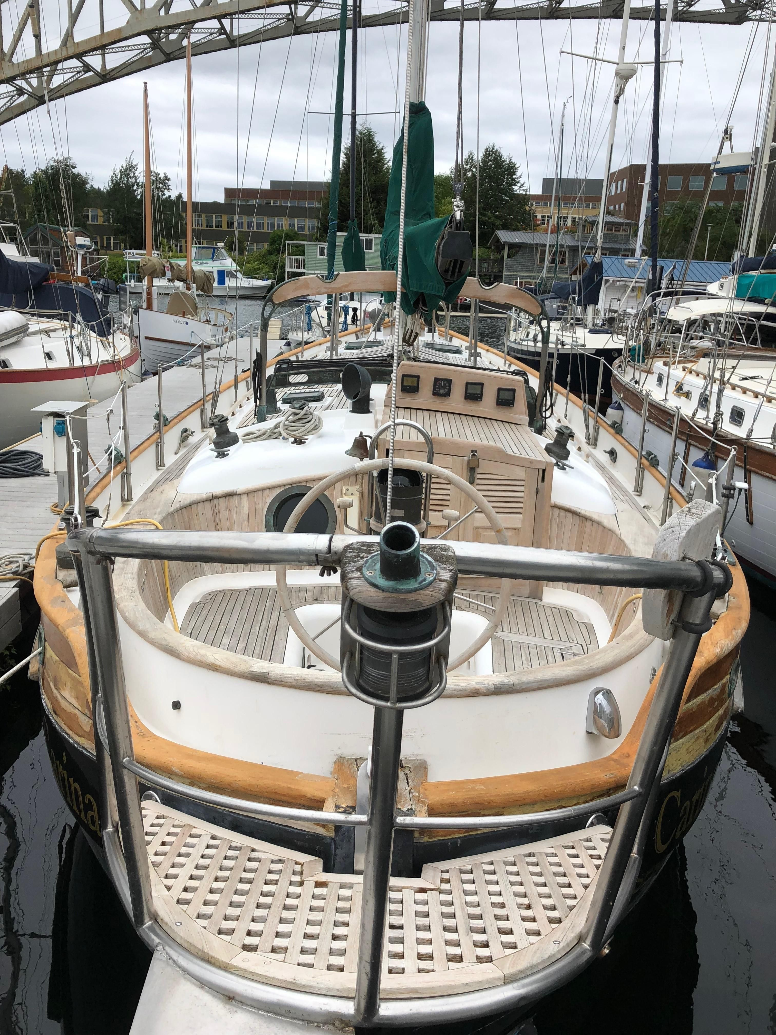 1987 Hans Christian 41 Molokai Sail Boat For Sale Www Yachtworld Com With Images Sailing Yacht Boat Sailing