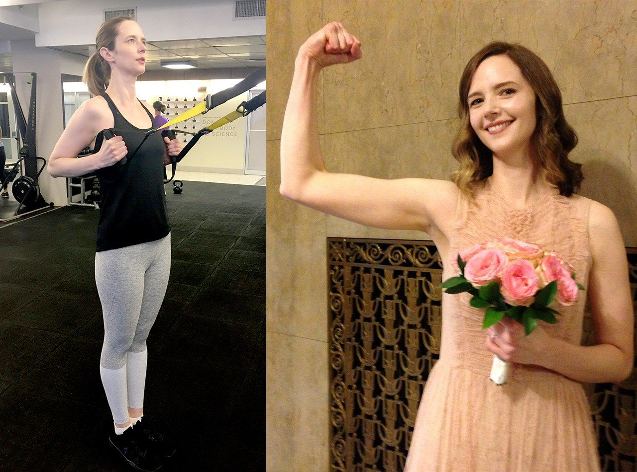 I Spent 3 Months Getting Buff For My Wedding—Here\'s How It Went ...