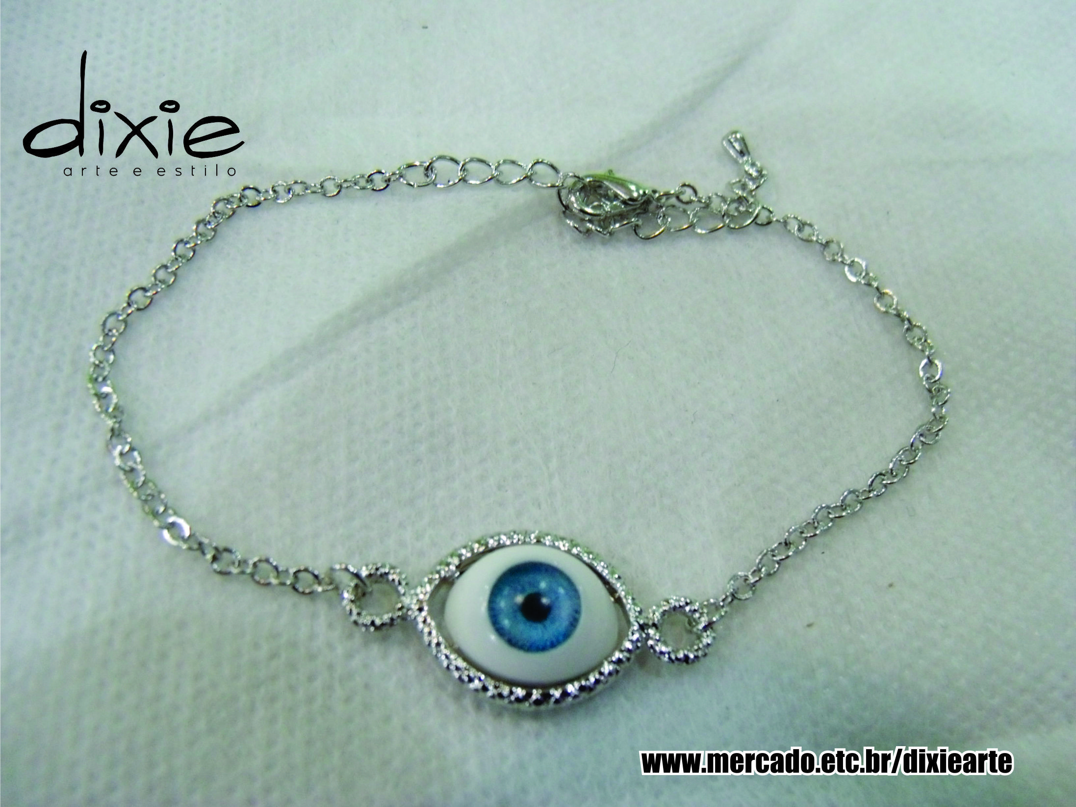 Pulseira Olho Grego  www.mercado.etc.br/dixiearte