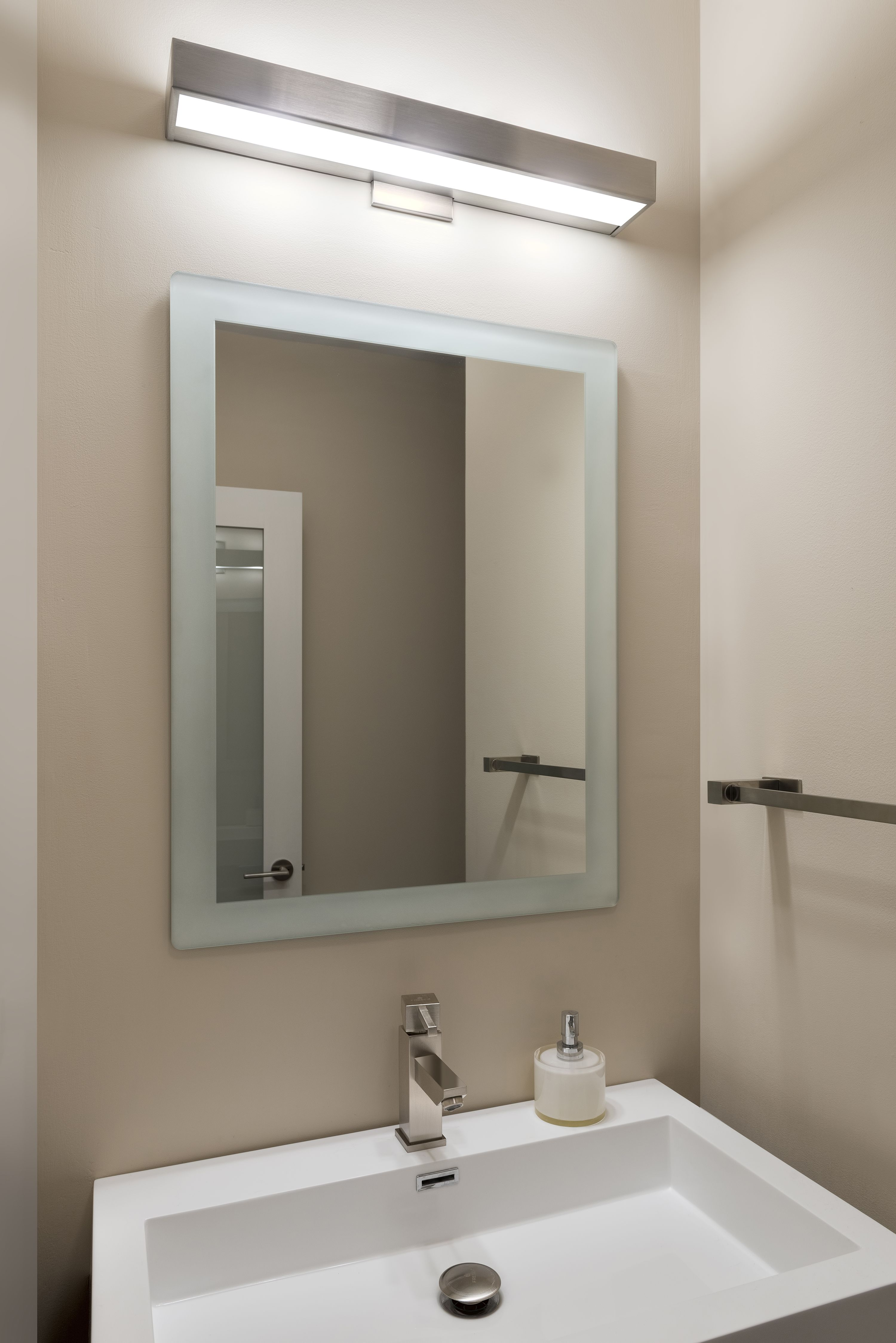 The Alpha Led Creates Great Task Lighting Ideal For Bathrooms And