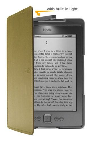 Amazon Kindle Lighted Leather Cover Olive Green Does Not Fit Kindle Touch Or Kindle Keyboard Amazon Kindle Kindle Paperwhite Kindle Cover