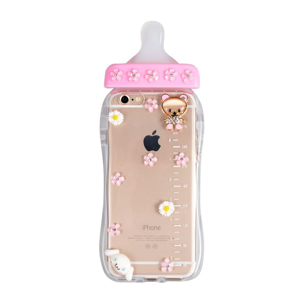 Iphone 6 6s Plus 6 6s Fancy Bling Mosaic Baby Bottle Case In Assorted Colors Stylish Iphone Cases Case Bling Phone Cases