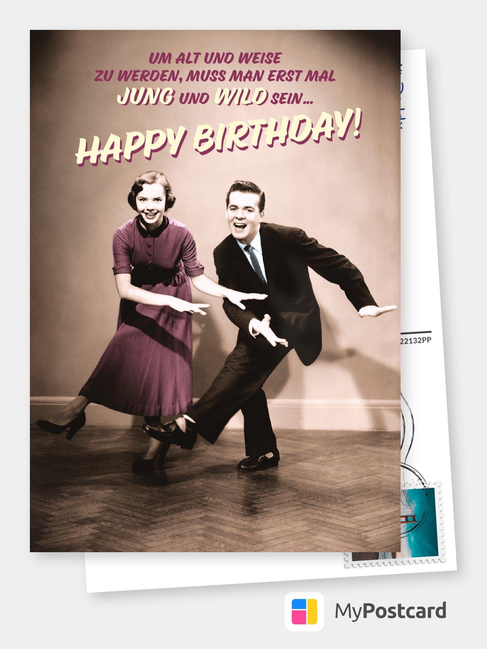 Jung Wild Birthday Postcards Birthday Humor Birthday Greetings