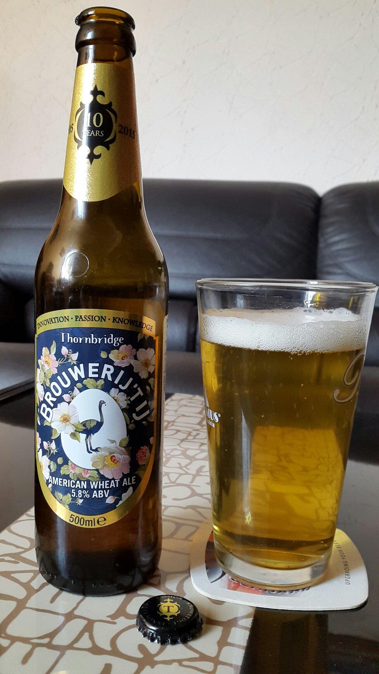 Brouwerij Tij Cerveza Estilo American Wheat De La Cerveceria