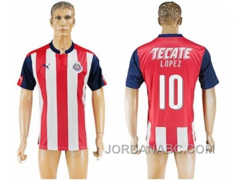 ff16052f22b ebay guadalajara 10 lopez anniversary edition soccer club jersey ...