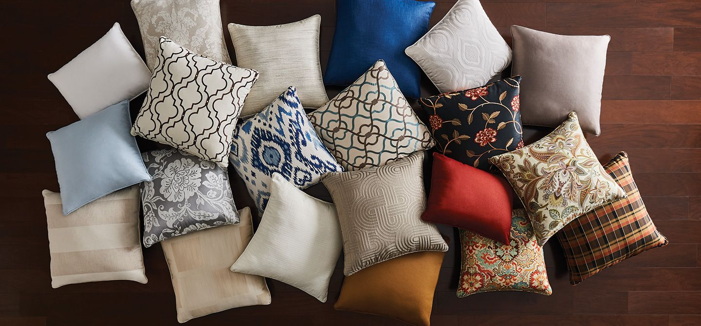 From Throw Pillows To Matching Decorative Pillows There S No