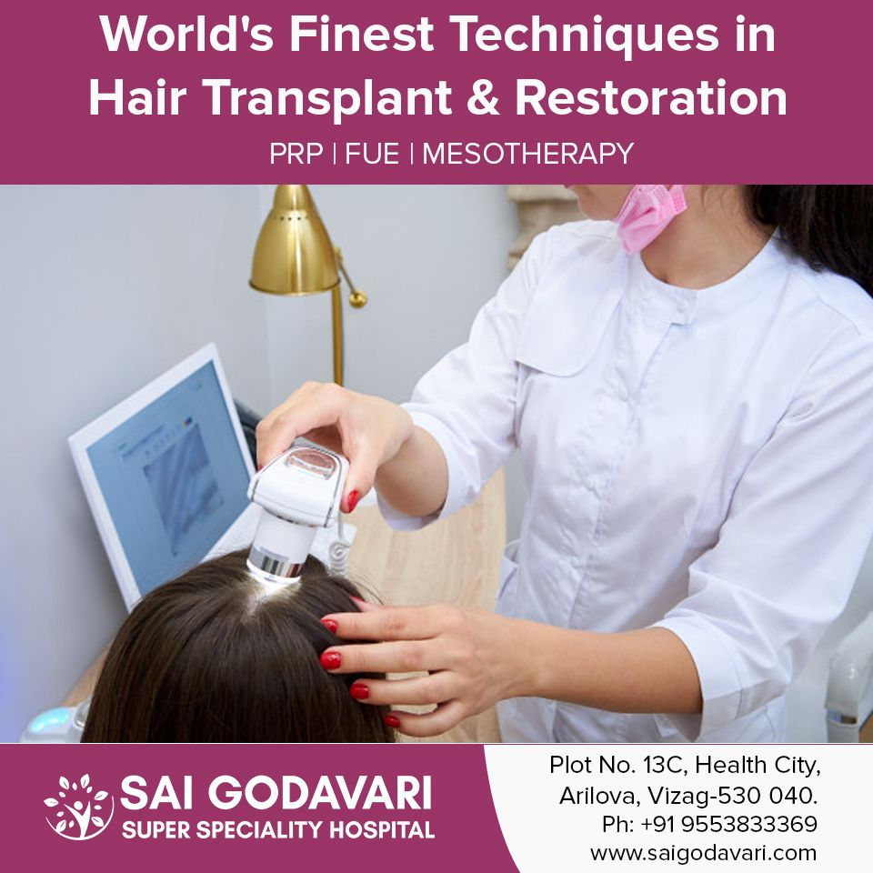 Best Hair Transplant Treatment Clinic in Vizag|Best Hair Clinic in Vizag|Sai Godavari Clinic