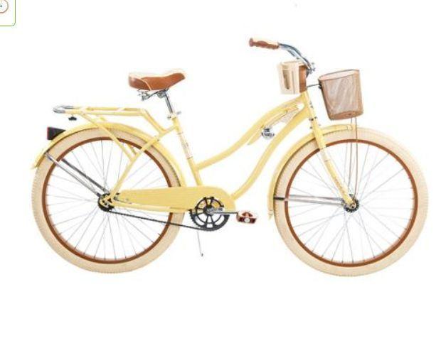 "Gloss Blue NEW 26/"" Huffy Nel Lusso vintage Women/'s Cruiser Bike Beach Bicycle"