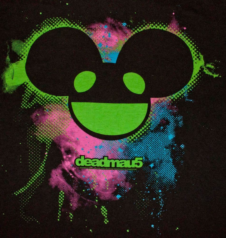 DJ Deadmau5 Green Sticker Decal *3 SIZES* Techno Electro EDM Vinyl Dead Mouse