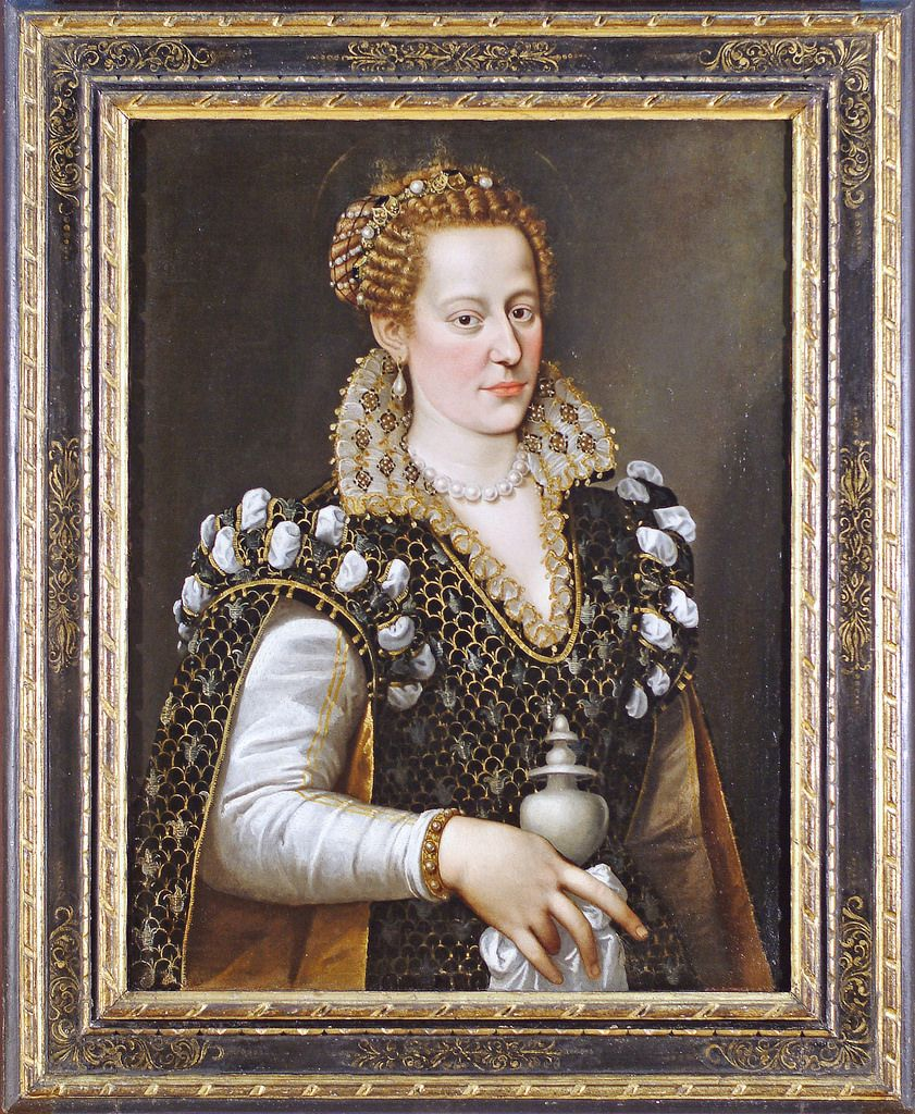 Isabella de Medici (after removal of overpaint) - Pittsburgh
