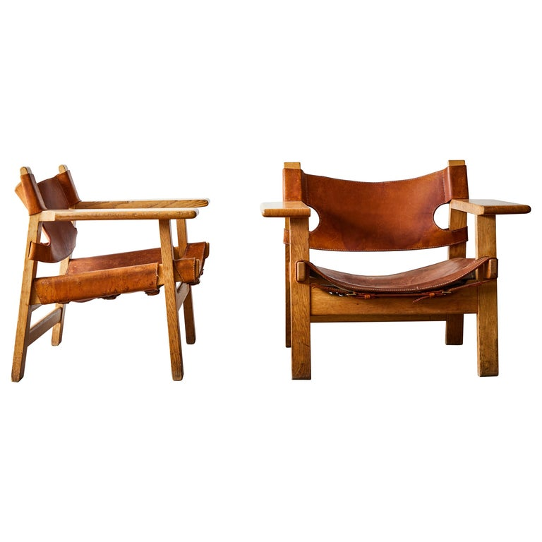 Spanish Chairs By Borge Mogensen Spanish Furniture Spanish Chairs Chair