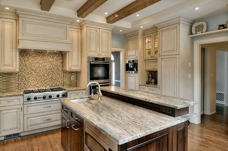 mixed cabinet colors in a kitchen | Authentic Home and ...