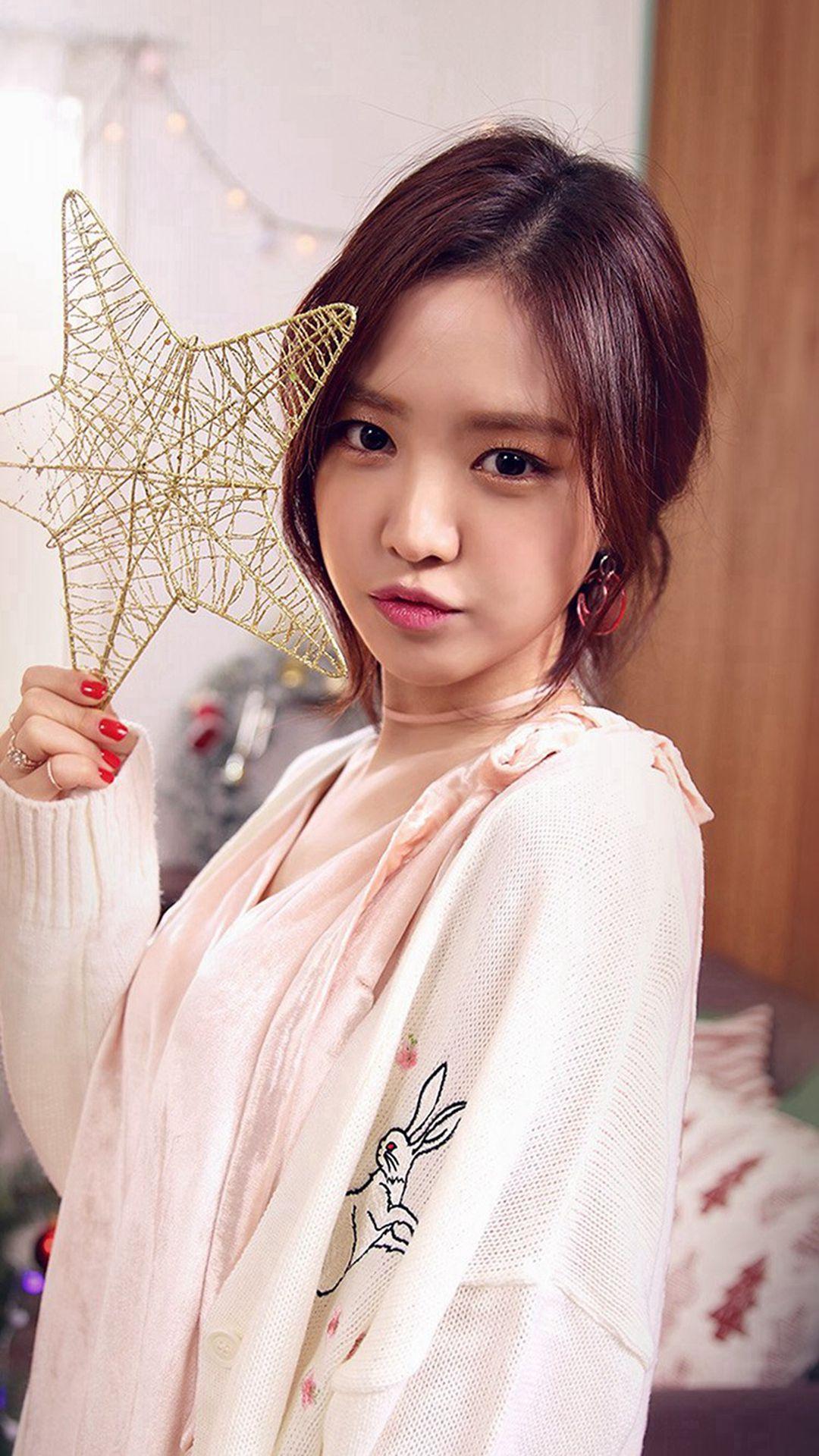 Kpop Girl Cute Christmas Apink iPhone 6 plus wallpaper