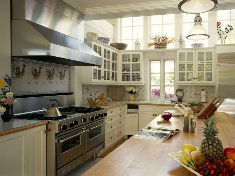 21 American Style Kitchens American Kitchen Ideas Country