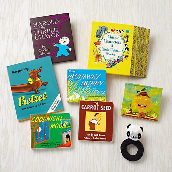 The Land of Nod's Baby Book Gift Set includes a range of classic ...