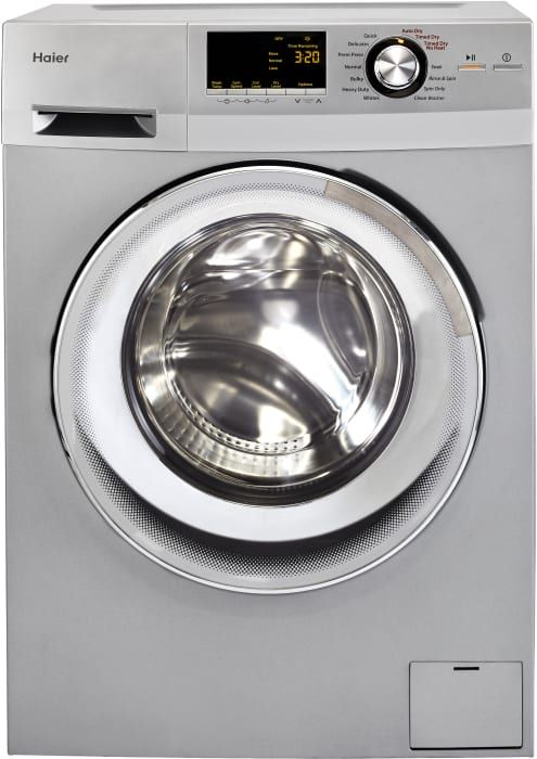 Haier Hlc1700axs 24 Washer Dryer Combo With 2 0 Cu Ft Capacity Featured View Washer And Dryer Washer Dryer Combo