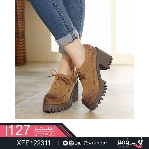 احذية عصرية لطلة مثالية حذاء بنات جامعة دوام شوز صبايا كشخة ستايل كاجوال جزمة جزم سبورت كعوب Oxford Shoes Womens Oxfords Shoe Bag