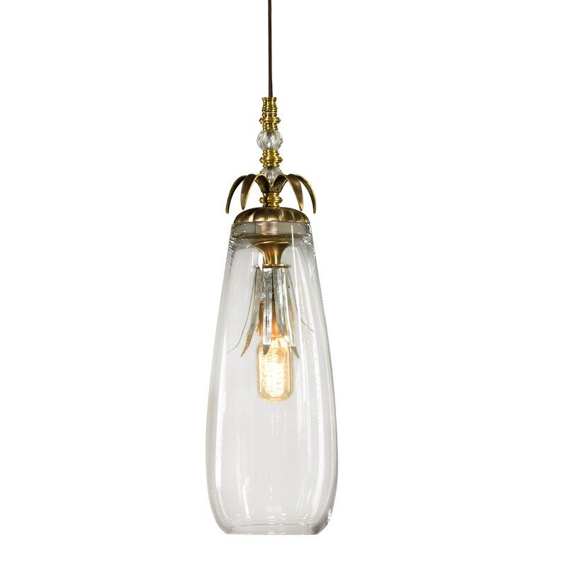 Pronto 1 Light Single Jar Pendant With Crystal Accents Metal Shades Beautiful Chandelier Pendant