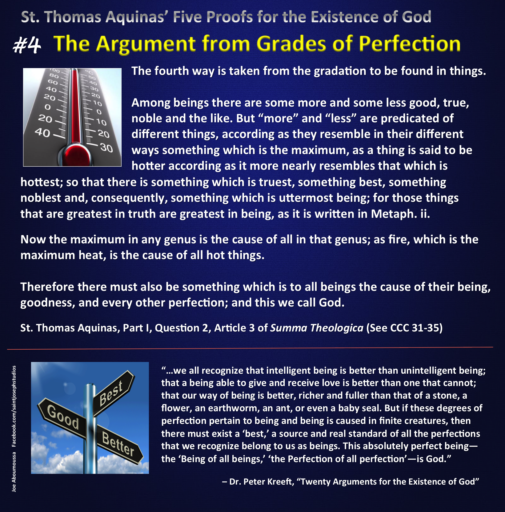 Argument from Grades of Perfection