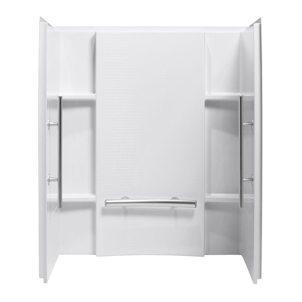 Sterling Accord 36 In X 48 In X 71 In 3 Piece Direct To Stud