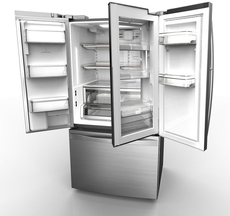 Kenmore Grab-n-Go Refridgerator -- The door-within-a-door design gives quick access to drinks and snacks without breaching the main cooling compartment.