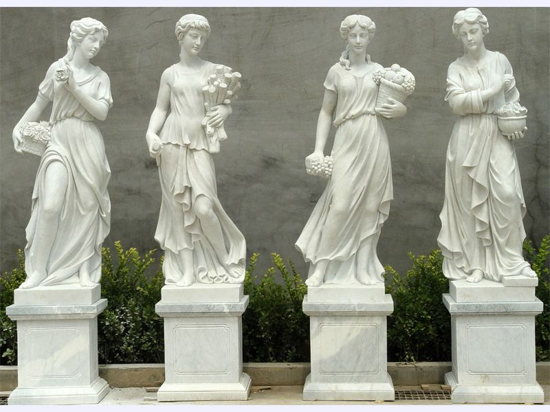 Four Seasons Sculptures In 2019 Art Puns Art History