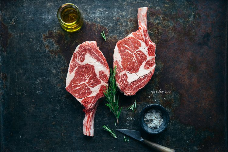 Shooting Raw Meat with Cannings Free Range Butcher | Two Loves Studio - Food Photography