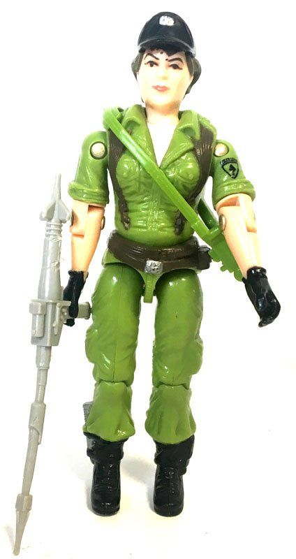 GI Joe – Lady Jaye (v1)  Hasbro  G.I. Joe, Classic Collection www.detoyboys.nl