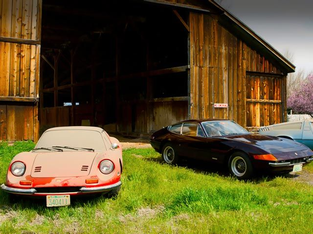 One Amazing Barn Find 1972 Ferrari 365 GTB 4 Daytona With 9752 Miles FindsExotic CarsMaserati