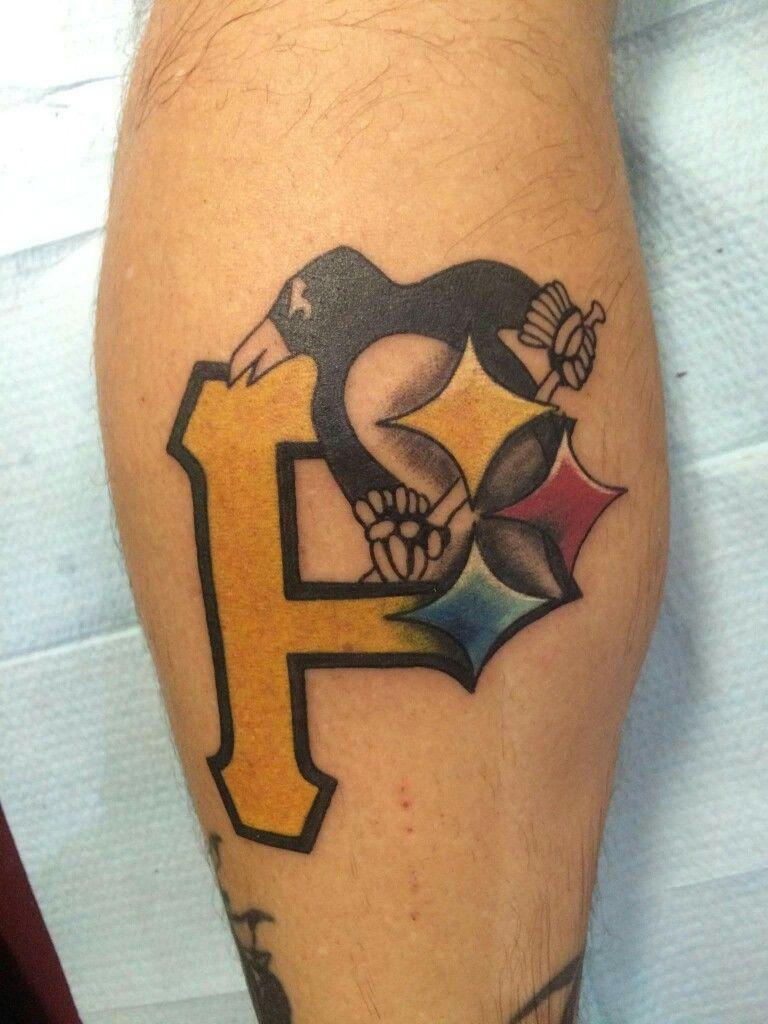 Pittsburgh penguin tattoo looks good cuz it tattoos i for Pittsburgh tattoo ideas
