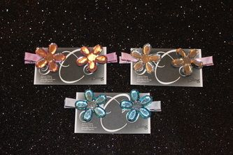 Flower Hair Clip- JCJ Bling $5.00/pair