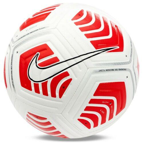 Nike Strike Round Soccer Football Ball White Red Db7853 100 Size 5 In 2020 Football Ball Soccer Ball