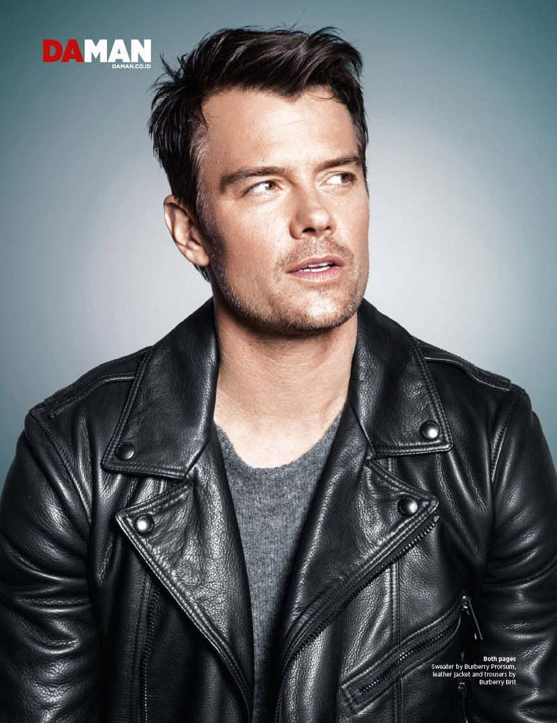 Josh Duhamel for DaMan... Josh Duhamel