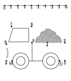 tracing numbers 1 through 10 | Kids Under 7: Tracing Worksheets for Kids. Free dot to dot worksheets ...
