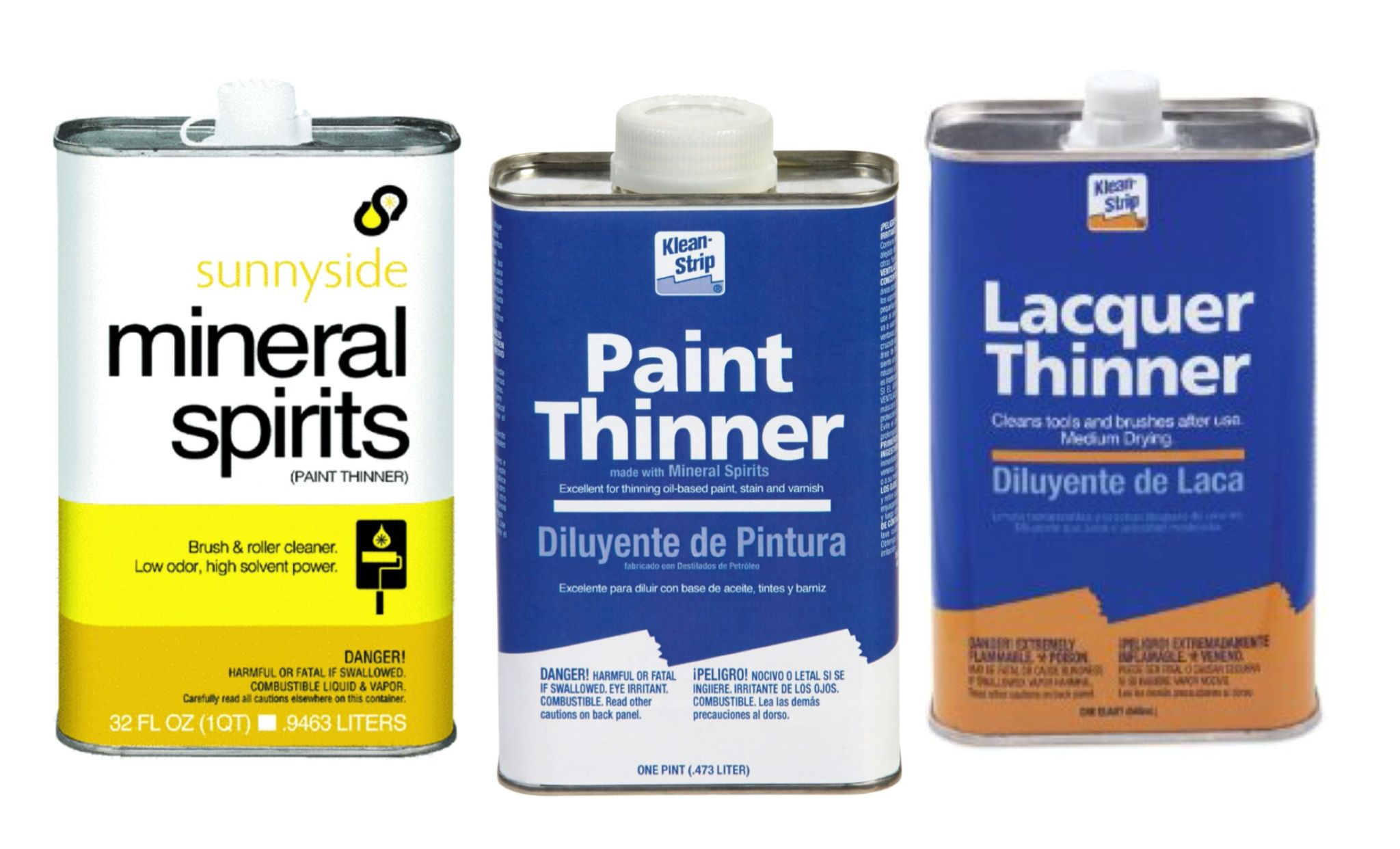 Difference Between Mineral Spirits Paint Thinner And Lacquer Thinner Via Refinishingfurniture Net Paint Thinner Mineral Spirits Lacquer