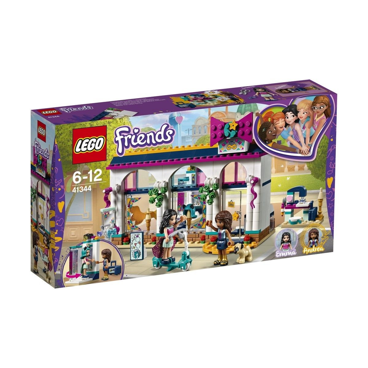 Lego Friends Andreas Accessories Store 41344 Lego Pinterest