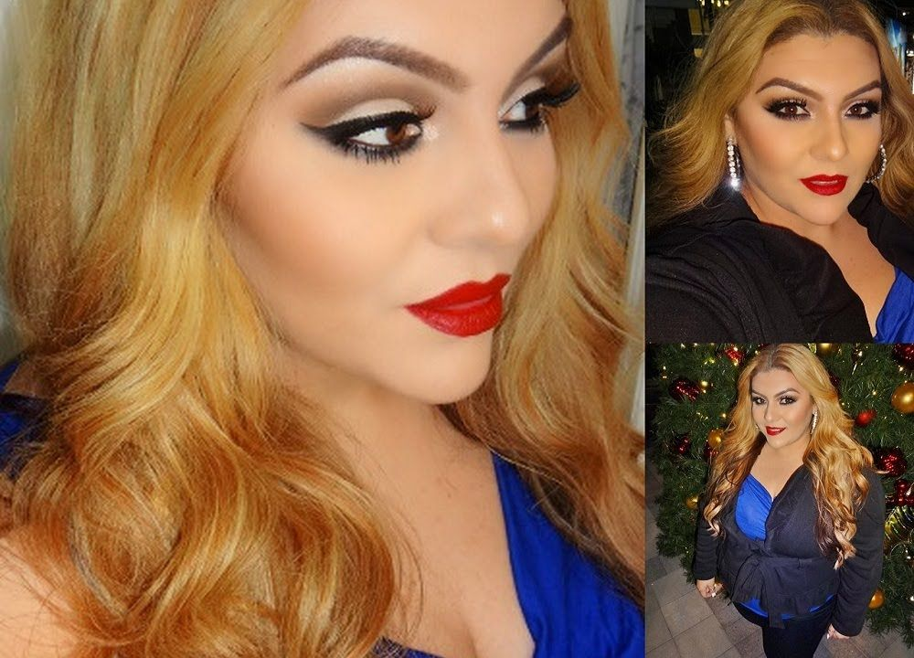 Holiday Makeup Tutorial: Classic Glamour with Red Lips
