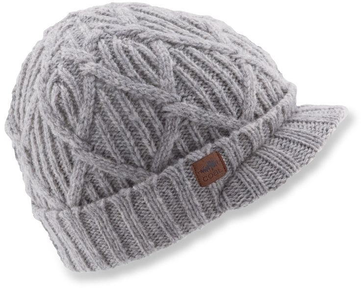 01ba14b91bf The Coal Yukon Brim beanie offers a traditional fit and features a roll-up  cuff with a brim.  REIGifts