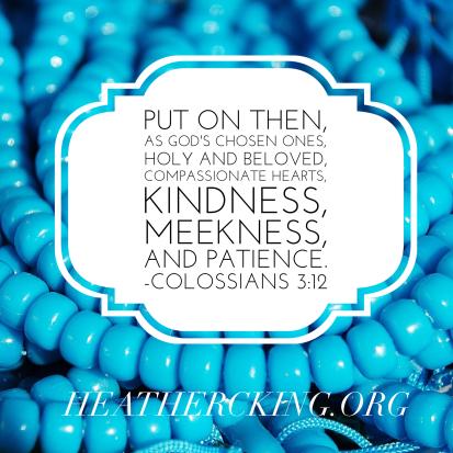 Colossians 3-12