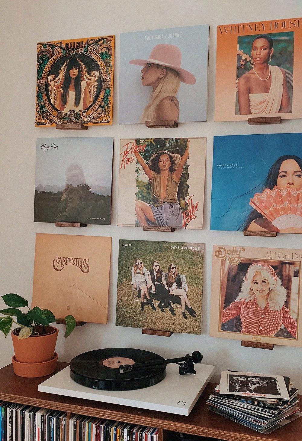 , The Vinyl Wall Panels | Wood Record Display Shelves, Family Blog 2020, Family Blog 2020
