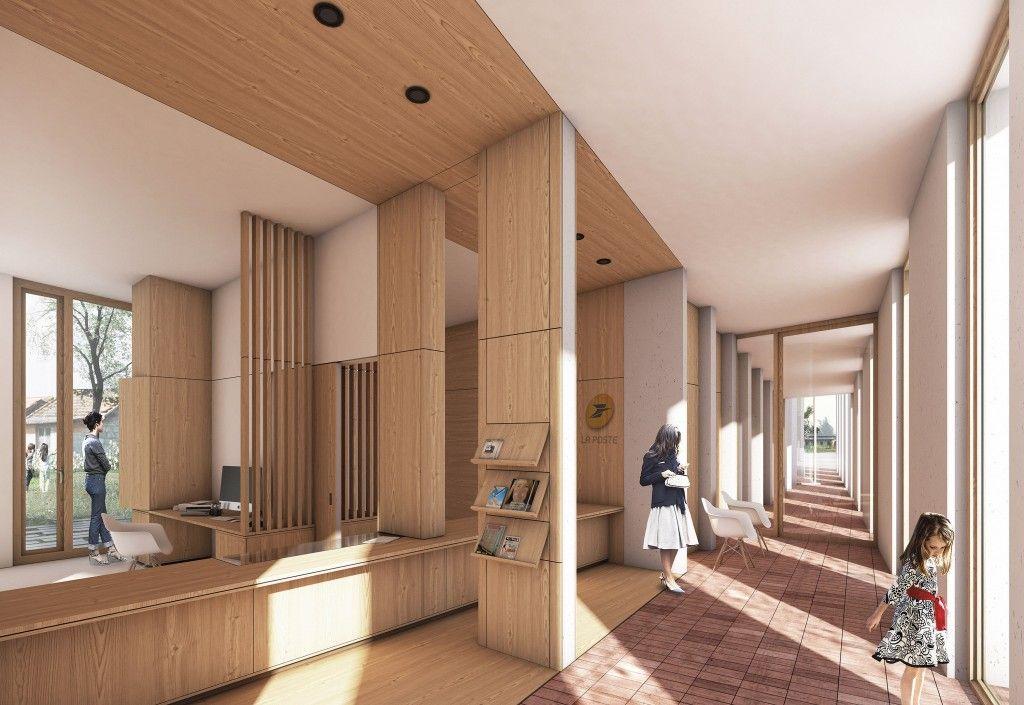 Construction de la nouvelle mairie de Paslières (avec