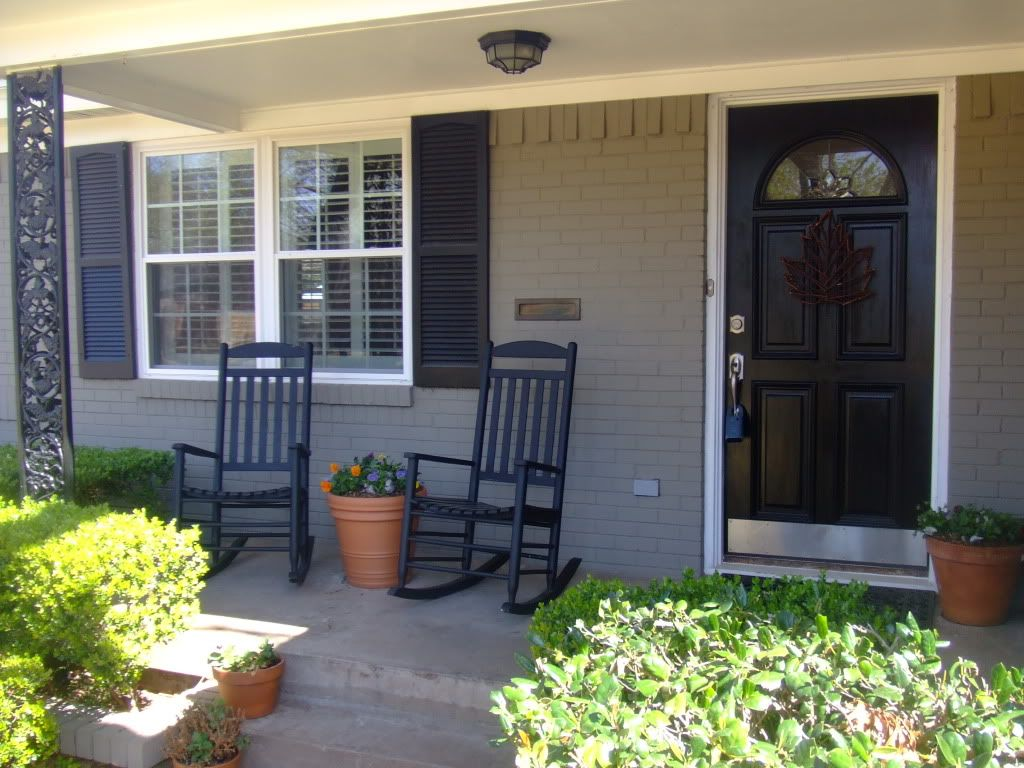 Exterior paint color ideas for brick homes - Find This Pin And More On Painted Brick Houses