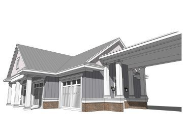Right View, 052G-0014 | House with porch, Car porch design ...