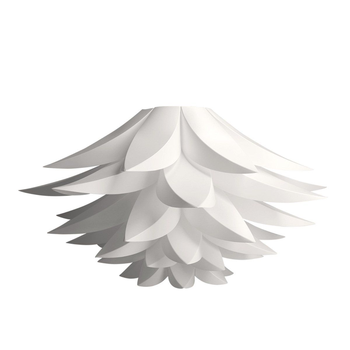 Kwmobile Puzzle Lotus Lamp Diy White Flower Light Design Lampshade