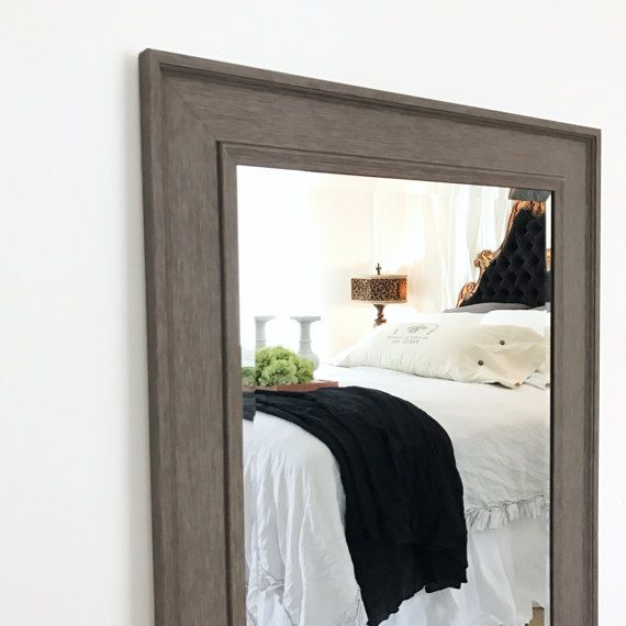 Framed Bathroom Mirrors Rustic large wall mirror rustic bathroom mirror leaning mirror modern