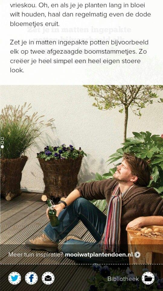 Wat een stoere plantenbakken