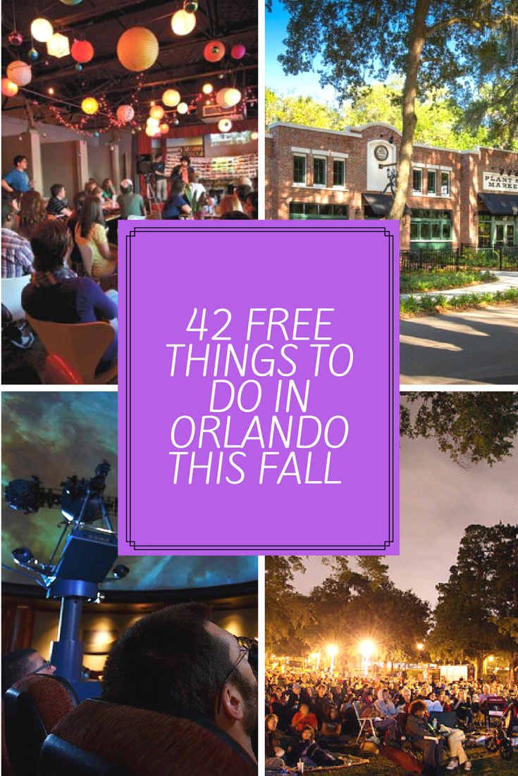 42 free things to do in orlando this fall - orlando date night guide