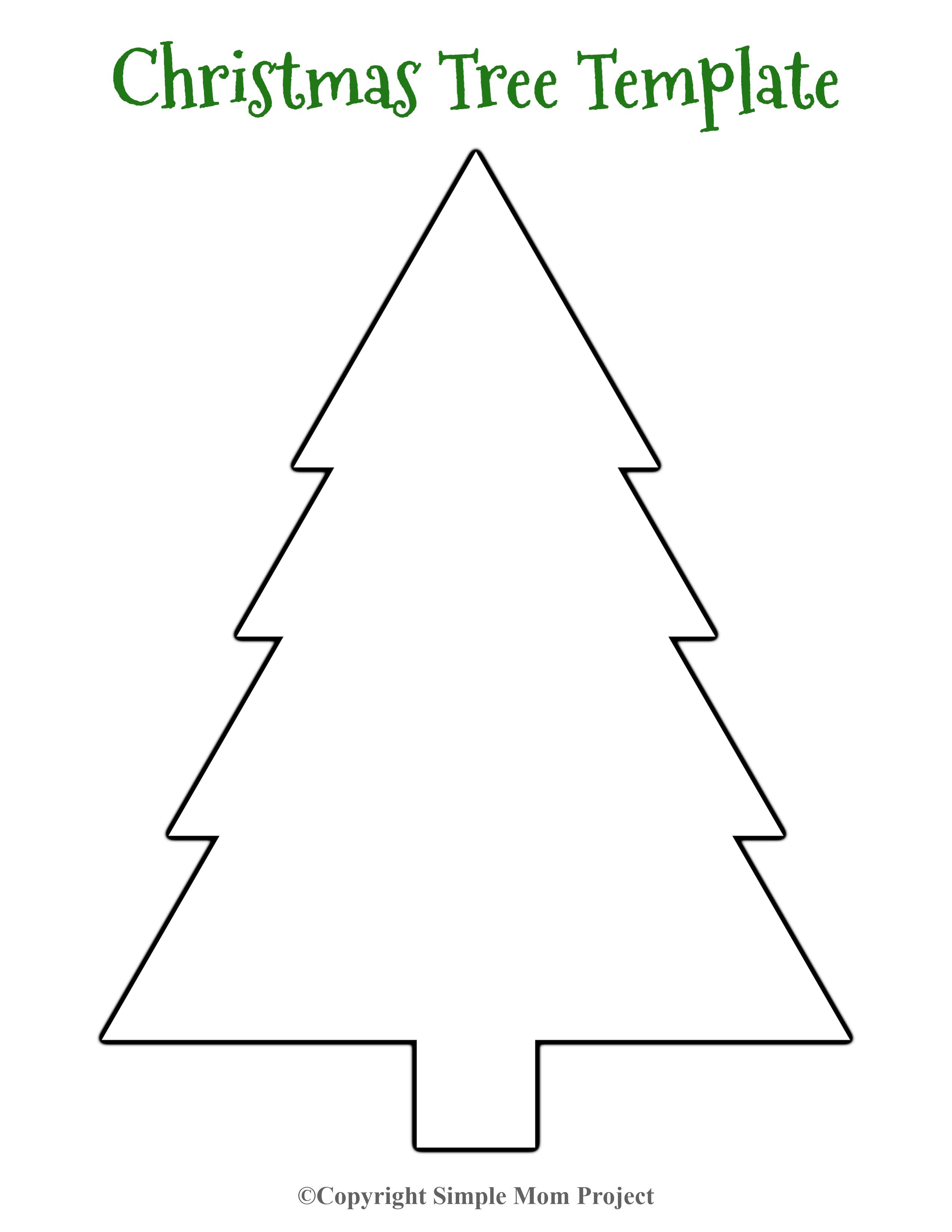 8 Free Printable Large Snowflake Templates Christmas Tree Template Christmas Tree Coloring Page Christmas Tree Printable