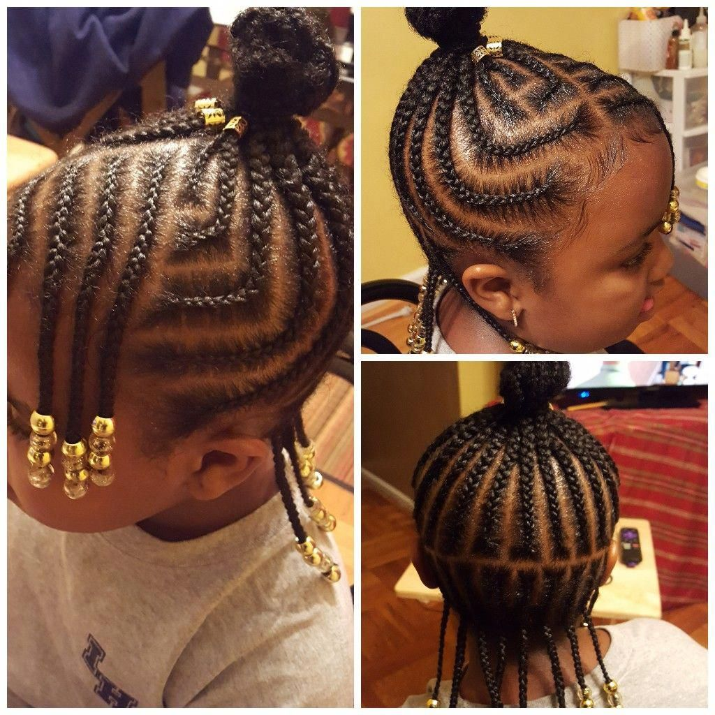 Little Braid Styles Image By