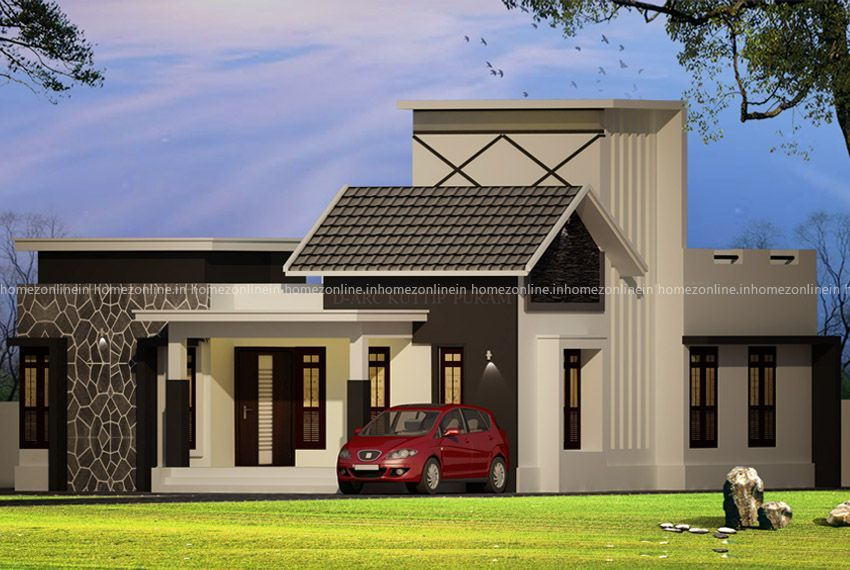 Classy Single Story Home In 2 Bedroom In 2020 Best Modern House Design Small House Design Small House Design Plans